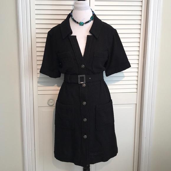 CHANEL Dresses & Skirts - CHANEL Black Dress Size 36